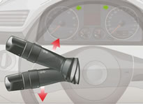 不像车型的开关采用扣拉按压式开关 取而代 2013年驾校科目三理论试题图片